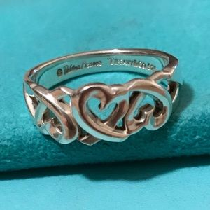 Tiffany & Co. Sterling Silver Paloma Picasso Ring